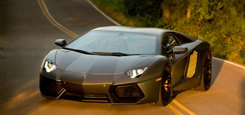 Unveiling yet another surprise . . . the extraordinary and exhilarating 2013 Lamborghini Aventador LP 700-4 Coupe
