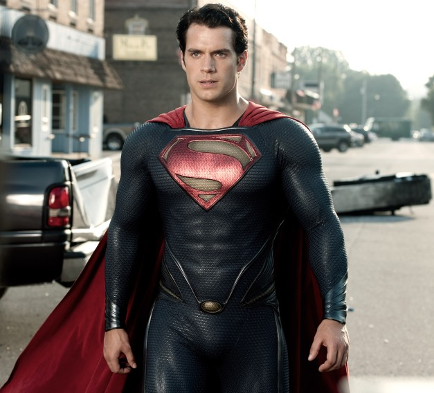 "Clay Enos/Warner Bros. Pictures Henry Cavill as Superman in ""Man of Steel."""