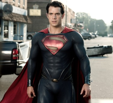 """Clay Enos/Warner Bros. Pictures Henry Cavill as Superman in """"Man of Steel."""""""