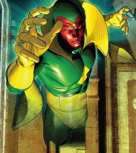 Marvel Comics Vision