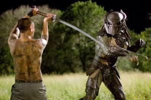Predators_Hanzo vs Predator swordfight