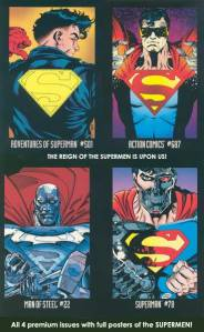 Reign of the Supermen cover posters