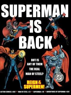 Reign of the Supermen promo