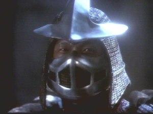 Shredder in the Teenage Mutant Ninja Turtles 1990 movie