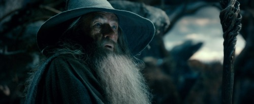 """Warner Bros. Pictures IAN MCKELLEN as Gandalf in New Line Cinema's and MGM's fantasy adventure """"THE HOBBIT: THE DESOLATION OF SMAUG,"""" a Warner Bros. Pictures release."""