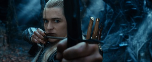 """Warner Bros. Pictures ORLANDO BLOOM as Legolas in New Line Cinema's and MGM's fantasy adventure """"THE HOBBIT: THE DESOLATION OF SMAUG,"""" a Warner Bros. Pictures release."""