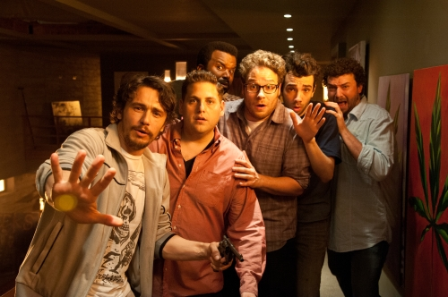 Suzanne Hanover/Columbia Pictures James Franco, Jonah Hill, Craig Robinson, Seth Rogen, Jay Baruchel and Danny McBride.