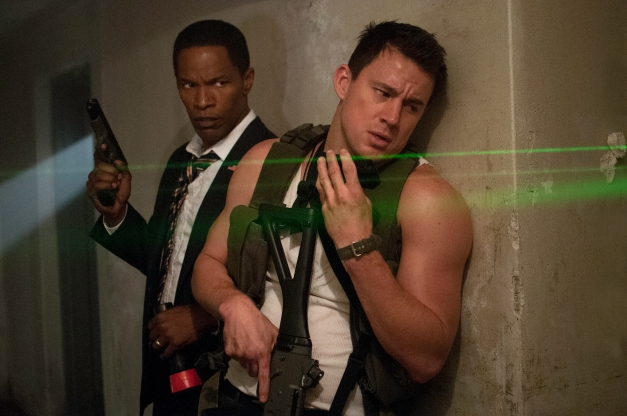 "Reiner Bajo/Columbia Pictures  Jamie Foxx and Channing Tatum in ""White House Down."""