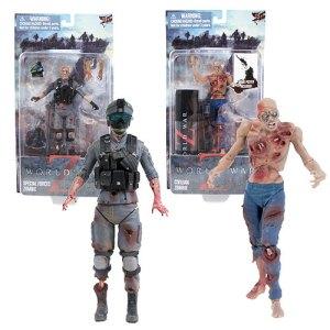 World War Z zombie figures by Jazzware