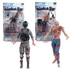 World War Z zombie figures by Jazzware