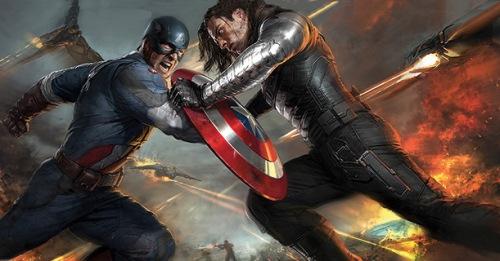 "New concept art for ""Captain America: The Winter Soldier"" - the major fight scene"
