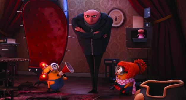 Universal Pictures and Illumination Entertainment Gru (Steve Carell) has about had enough mischief.