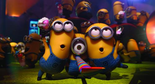 Universal Pictures and Illumination Entertainment The Minions party.