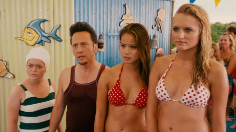 Grown Ups Ashley Loren, Rob Schneider, Jamie Chung and Madison Riley