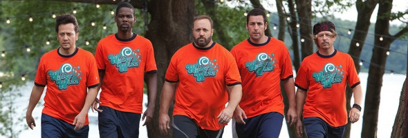 Grown Ups Rob Schenider, Chris Rock, Kevin James, Adam Sandler and David Spade