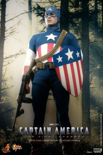 Hot Toys Captain America exclusive Star Spangled Man