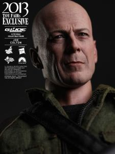 Hot Toys GI Joe Retaliation Joe Colton close up