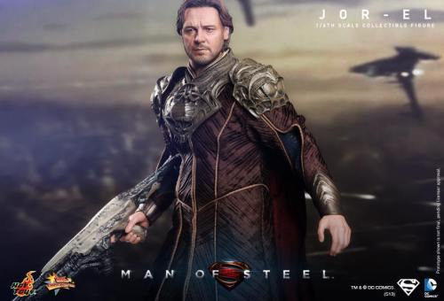 Hot Toys Man of Steel Jor-El horizontal