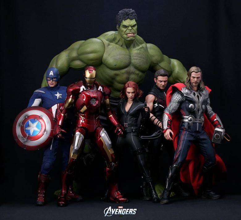 Resultado de imagen de avengers hot toys