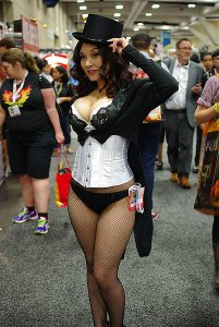 SDCC'13 cosplay - hot Zatanna