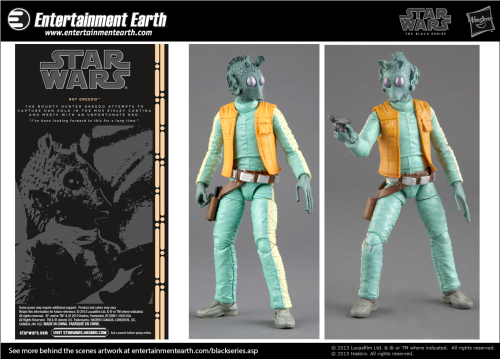 Star Wars Black Greedo