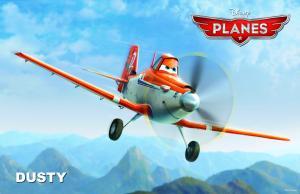 """Disney Enterprises DUSTY in """"Planes."""""""