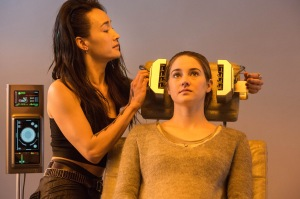 "Jaap Buitendijk/Summit Entertainment, LLC. MAGGIE Q and SHAILENE WOODLEY star in ""DIVERGENT."""