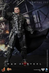 Hot Toys Man of Steel General Zod raised hand