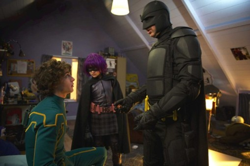 Kick-Ass Kick-Ass meets Hit Girl and Big Daddy