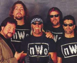 nWo - Dibiase, Giant, Hogan, Nash and Hall