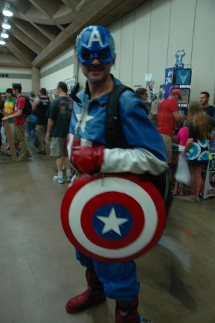 Baltimore Comic Con 2013 - Captain America