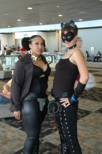 Baltimore Comic Con 2013 - Catwoman and Cleopatra