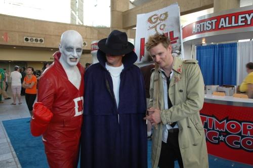 Baltimore Comic Con 2013 - Deadman, Phantom Stranger and Constantine