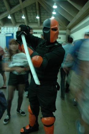 Baltimore Comic Con 2013 - Deathstroke