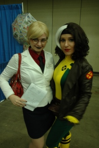 Baltimore Comic Con 2013 - Dr. Quinzel and Rogue
