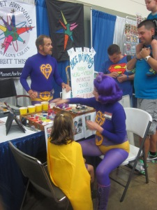 Baltimore Comic Con 2013 - face painting