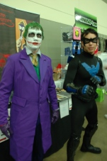 Baltimore Comic Con 2013 - Joker and Nightwing