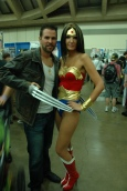 Baltimore Comic Con 2013 - Logan and Wonder Woman