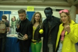 Baltimore Comic Con 2013 - Logan, Rogue, Nightcrawler and Jubilee