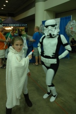 Baltimore Comic Con 2013 - Padme and Stormtrooper