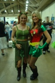 Baltimore Comic Con 2013 - Poison Ivy and Robin hot