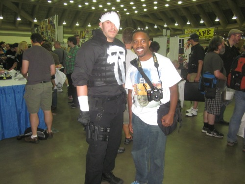 Baltimore Comic Con 2013 - Punisher and me