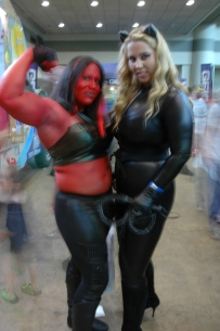 Baltimore Comic Con 2013 - Red She Hulk and Catwoman