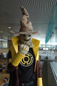 Baltimore Comic Con 2013 - Sinestro Corps Scarecrow