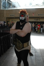 Baltimore Comic Con 2013 - wrestler