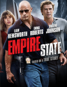 Empire State Dwayne Johnson, Liam Hemsworth and Emma Roberts