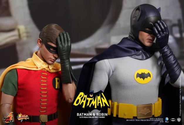 Hot Toys Robin and Batman facepalm