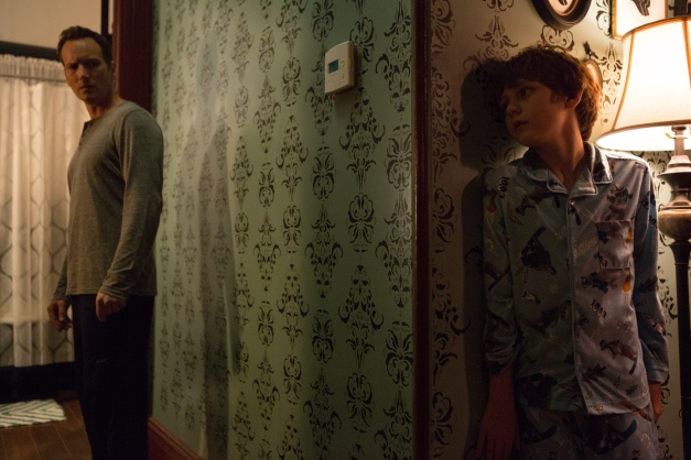 "Matt Kennedy/Film District Patrick Wilson and Ty Simpkins as Josh and Dalton Lambert in ""INSIDIOUS 2."""