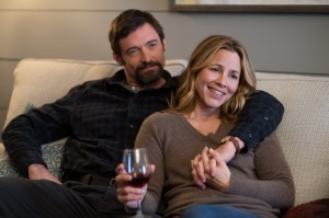 Wilson Webb/Warner Bros. Pictures Keller Dover (Hugh Jackman) and Grace Dover (Maria Bello).