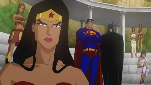 超人-蝙蝠侠启示录神奇女侠,超人和蝙蝠侠